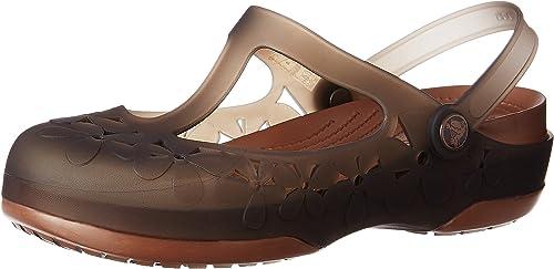 Womens Crocs Carlie Flower Mary Jane