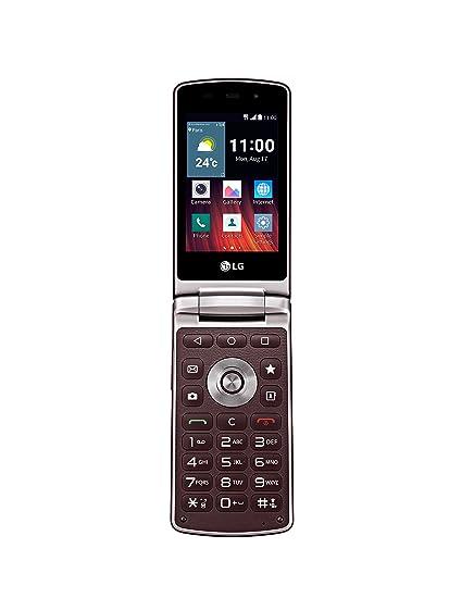 LG Wine Smart H410 Smartphone débloqué 4G (Ecran: 3,2 pouces - 4 Go - Simple Micro-SIM - Android 5.1 Lollipop) Rouge