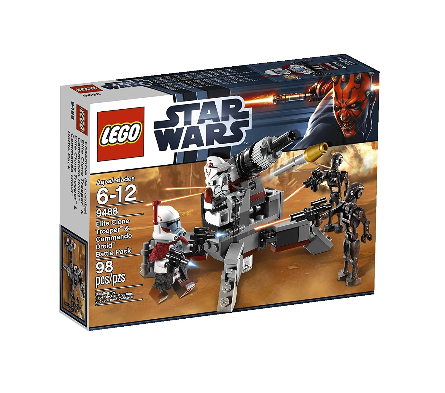 LEGO Star Wars Elite Clone Trooper and Commando Droid B 9488 $8.55