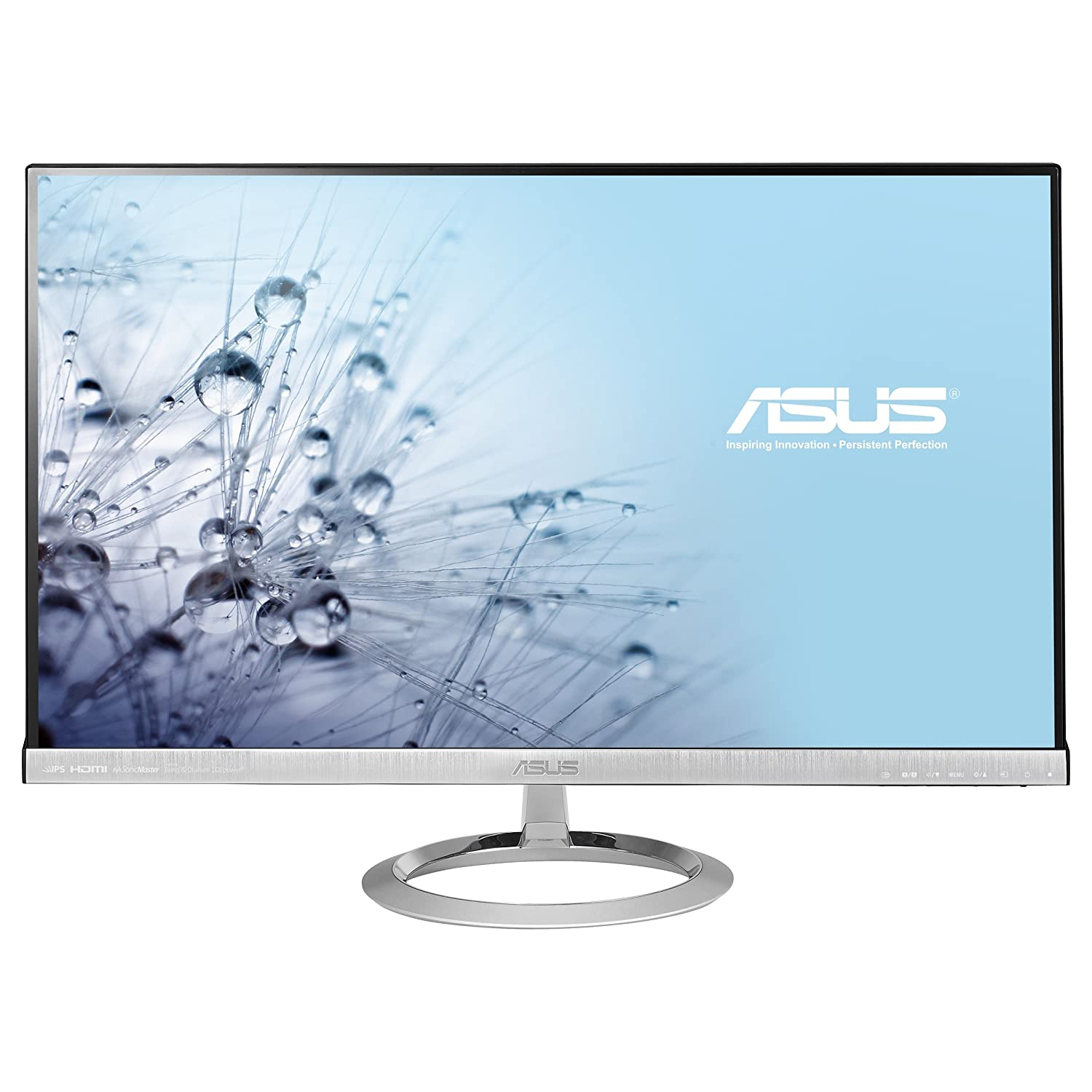 "ASUS MX279H 27"" Full HD 1920x1080 AH-IPS HDMI VGA Back-lit LED Monitor"