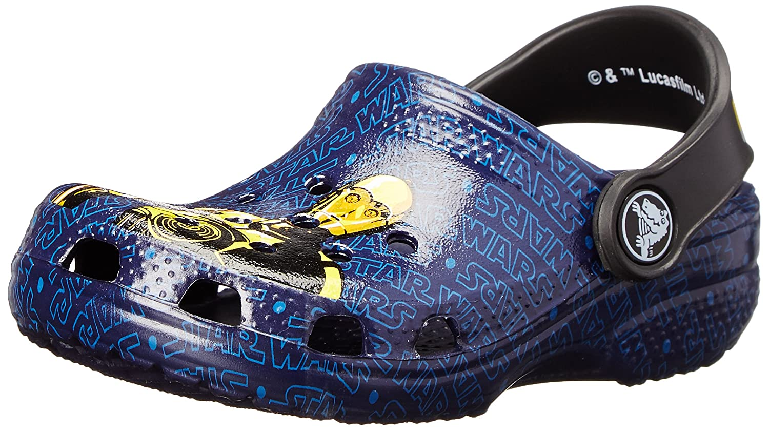 crocs Boys' Classic Star Wars R2D2 and C3PO Clog