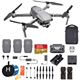 DJI Mavic 2 Zoom Fly More Combo Deluxe Bundle, 3 Batteries, Charging Hub, Extra Landing Pad and Extreme microSDXC Card (Color: Mavic 2 Zoom Fly More)