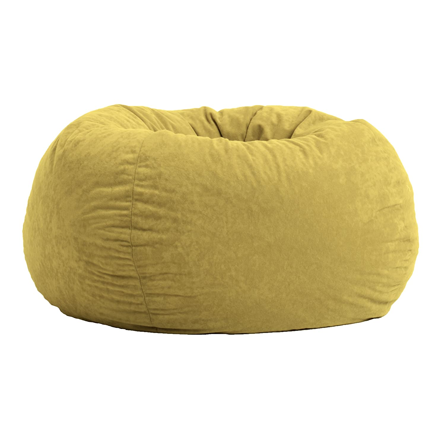 Comfort Research Classic Bean Bag in Comfort Suede, Sand Dune