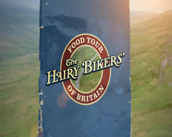 Hairy Bikers Food Tour Of Britain Book