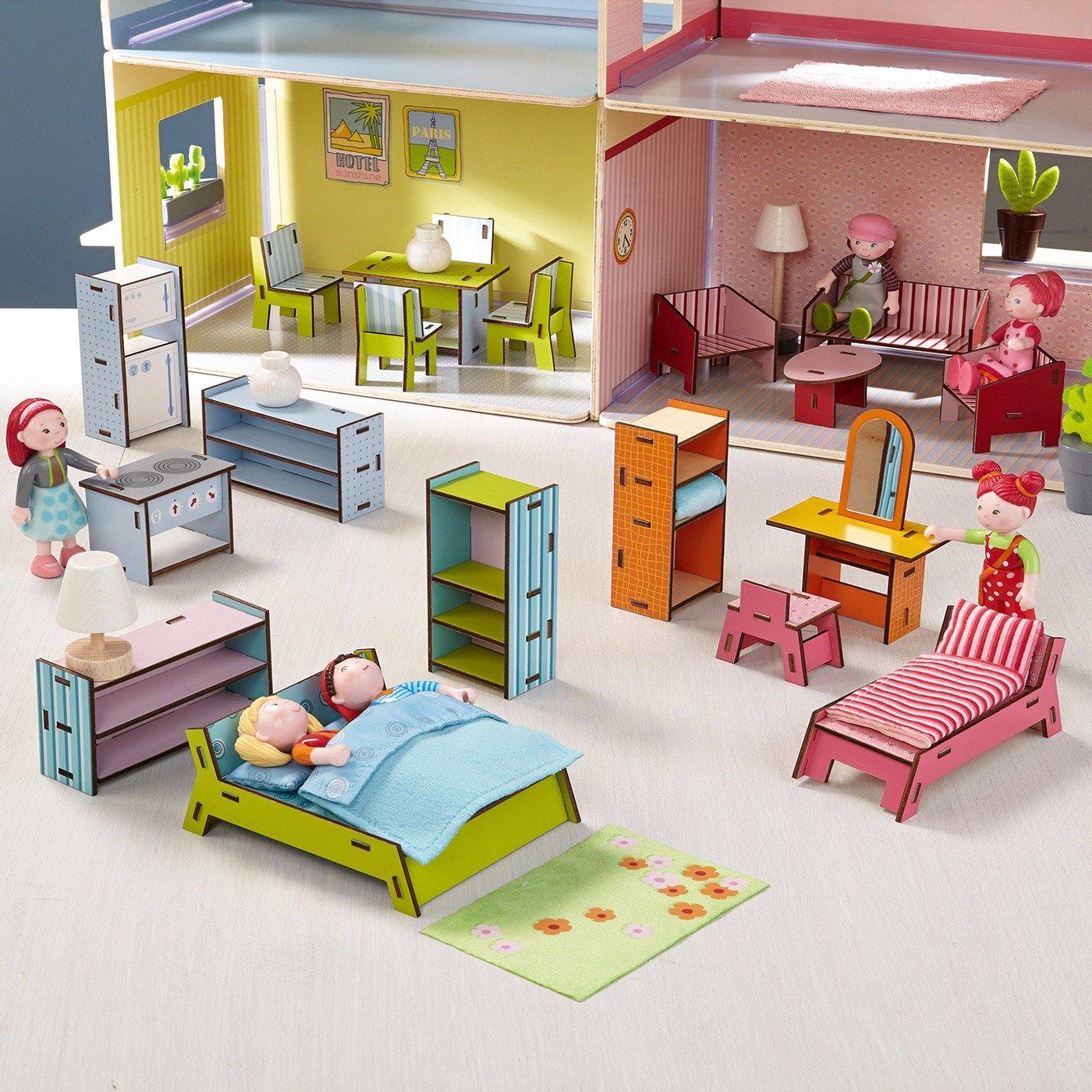 HABA 300511 – Little Friends – Puppenhaus-Möbel Villa Sonnenschein jetzt bestellen
