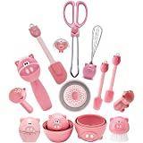 Joie Kitchen Accessories Set – Apartment Essentials Collection of 12 Piggy Wiggy Oink Gadgets Bundle