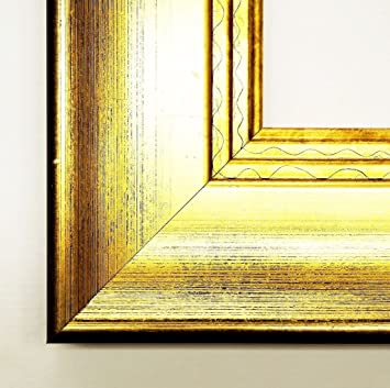 Cleverline 2 Gold 8.1 – Mirror Wall Mirror Mirror Glass Size 60 X 140 Genuine Wooden