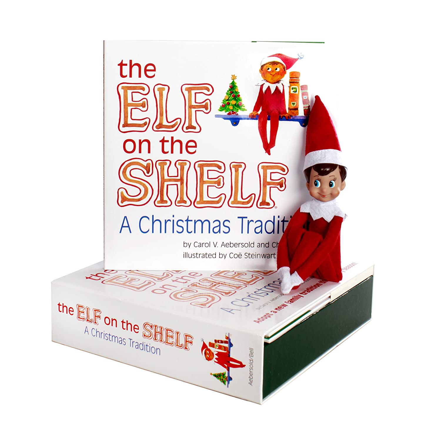 The Elf on the Shelf: A Christmas Tradition with Blue Eyed North Pole Pixie-Elf