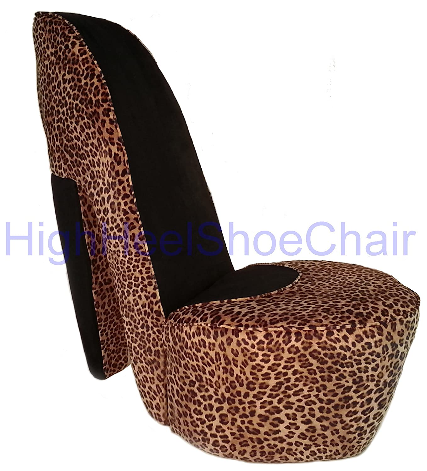 high heel shaped chairs