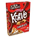 Kellogg's Krave Breakfast Cereal, Chocolate, Good Source of Fiber, 11.4 oz Box(Pack of 10) (Tamaño: 11.4oz(Pack of 10))