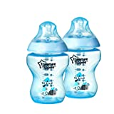 Tommee Tippee Bottles, Boy Deco, 9 Ounce, 2-Count (Discontinued by Manufacturer) (Color: Boy Deco, Tamaño: 9 Ounce)