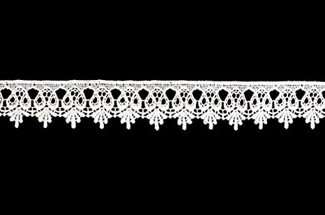 Scalloped Lace Trim by The Yard Venise Lace Trim Scalloped