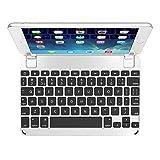 BrydgeMini Bluetooth Backlit Aluminum Keyboard for iPad mini 1, 2 & 3 - Silver