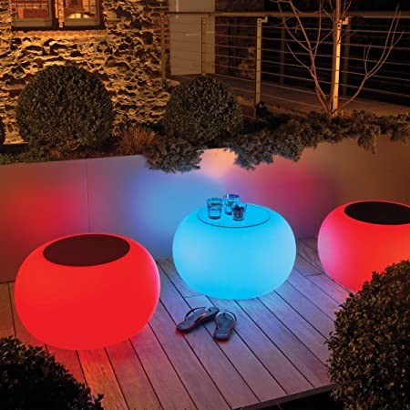 Moree Lichthocker Bubble OUTDOOR LED (IR-Multicolour / E27)