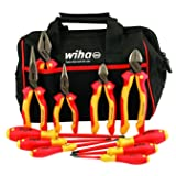Wiha 32977 Insulated Cutters Pliers Drivers Set
