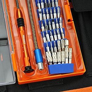 JAKEMY JM-P01 70-in-1 Precision Screwdriver Kit Repair Set Disassemble Tool for MacBook iPhone Samsung Phone
