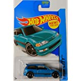 Hot Wheels 1990 honda civic EF new for 2014 Hw city 30/250