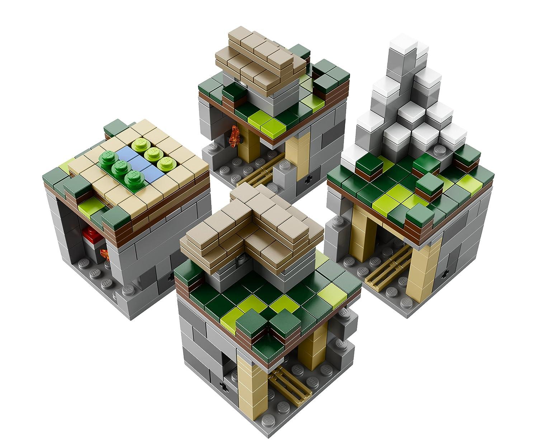 LEGO MINECRAFT 21105 The Village Pig, Villager, Zombie ...