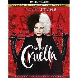 Cruella [4K Ultra HD + Blu-ray]