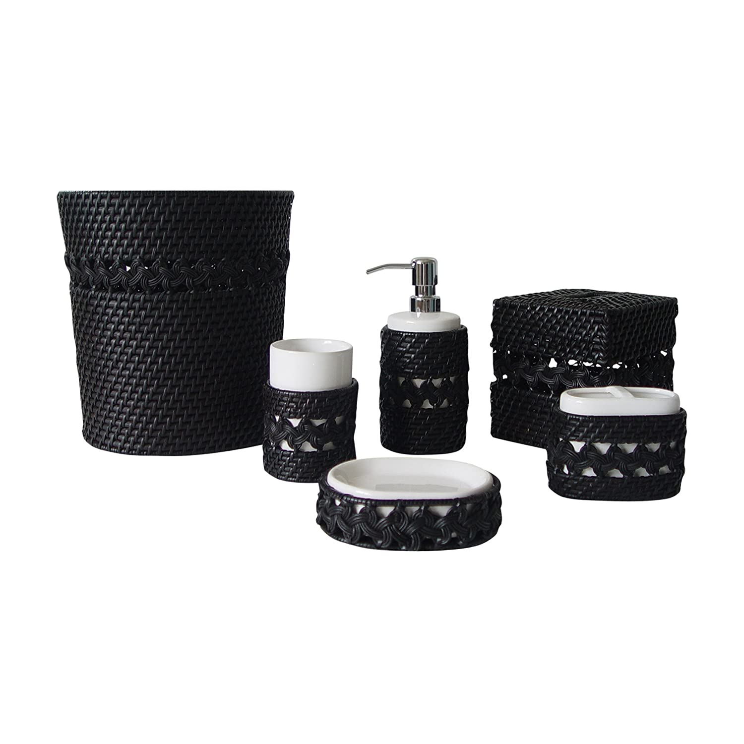 Check price check price check price for Black white bathroom set