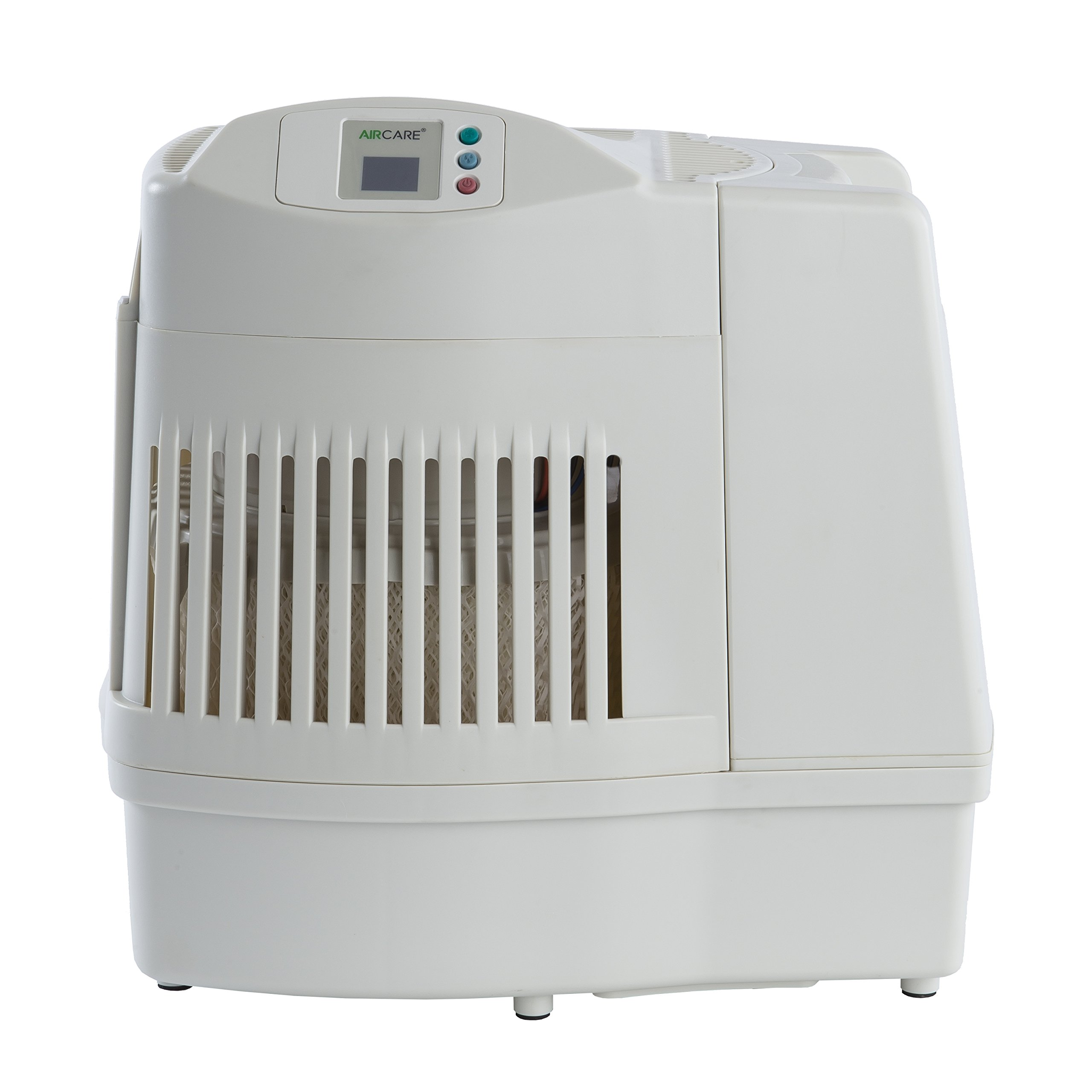 Whole House Console Style Evaporative Humidifier White Humidifiers #443B2F