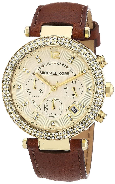 Michael Kors Damen-Armbanduhr Parker Chronograph