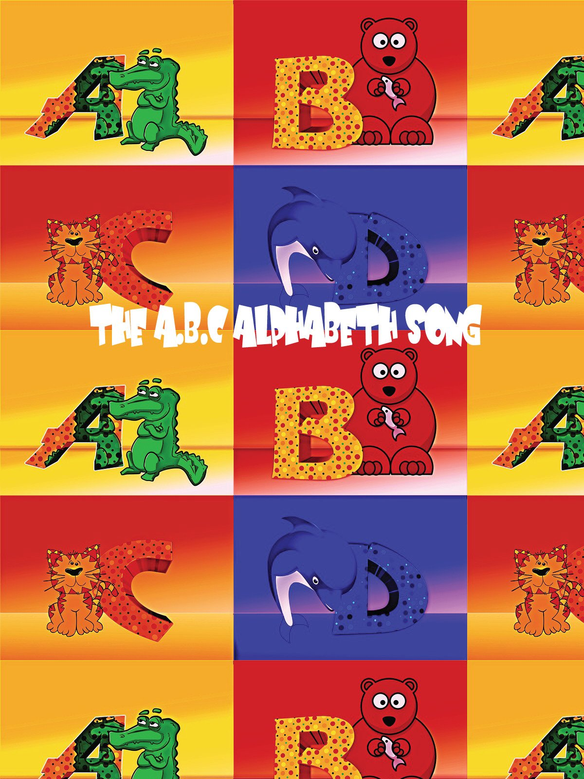 The A.B.C Alphabet Song