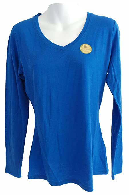 Segments womens 100 australian merino wool ls shirt blue for Merino wool shirt womens