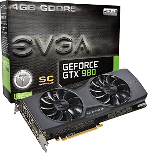 EVGA GeForce GTX 980 4GB Graphics Card