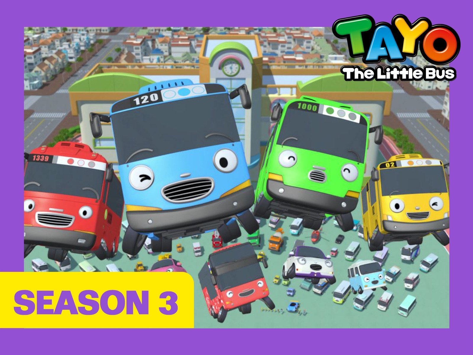 Tayo the Little Bus on Amazon Prime Instant Video UK