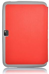 VEO | Funda Ultra Fina Smart Case Cover Para Nexus 10 2012 Tipo Libro, ROJO  Electrónica revisión y descripción más