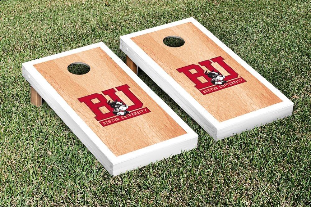 Boston BU Terriers Cornhole Tailgate Toss, 24x48, Wood, Portable, Version 12 8pk aqua kem toss in