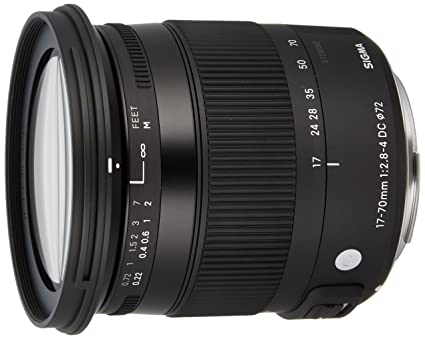 Sigma 884954 Objectif 17-70 mm F2,8-4 DC Macro OS HSM Contemporary pour Canon
