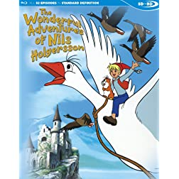 The Wonderful Adventures of Nils Holgersson [Blu-ray]