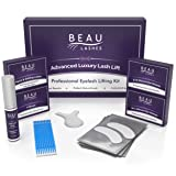 Professional Lash Lift Perm Kit - For Perming, Curling and Lifting Eyelashes | Semi Permanent Salon Grade Supplies For Beauty Treatments | Includes Eye Shields, Pads and Accessories