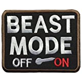 SpaceAuto Beast Mode On Military Tactical Morale Badge Patch 3.5