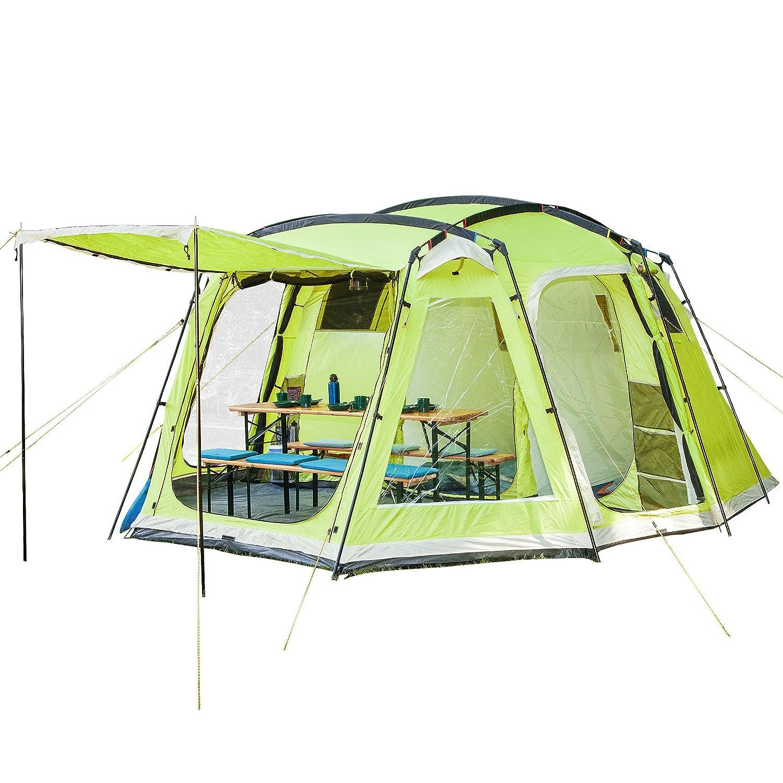 Zelt 6 Personen Wassersäule 5000 Mm : Zelt mit vorzelt test vergleich