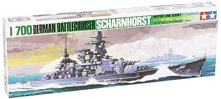 Tamiya - 77518 - Maquette - Bateau - Croiseur Scharnhorst