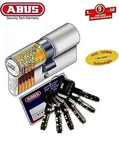 ABUS XP2S ProfilDoppelzylinder Länge 28/34mm mit 6 Schlüssel  BaumarktÜberprüfung und Beschreibung
