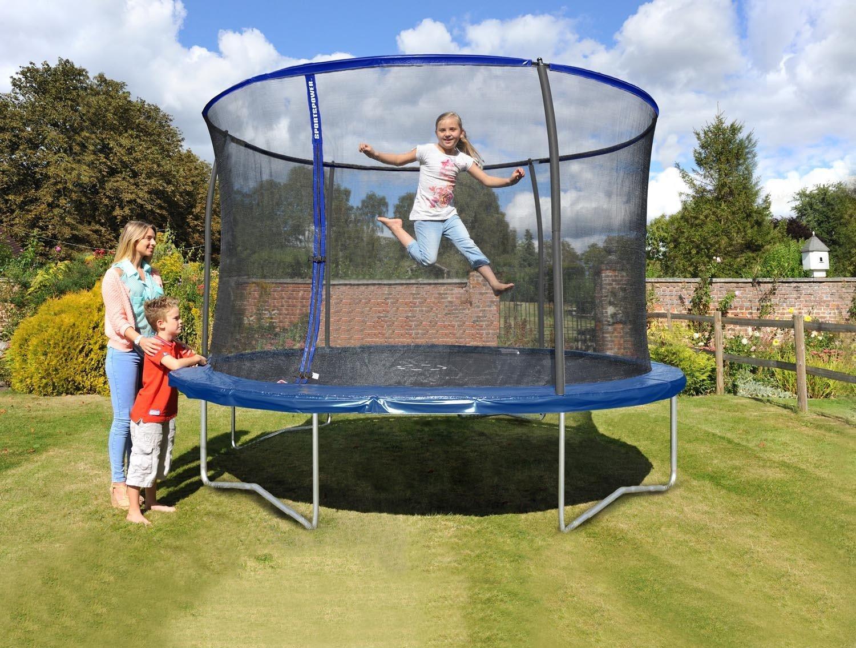 Sportspower Trampolin Gartentrampolin Set 305cm 150kg TÜV/GS innenliegendes Netz günstig kaufen
