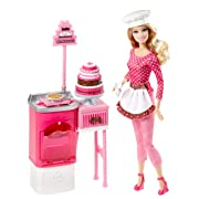 Barbie Careers Cake Decorator Playset