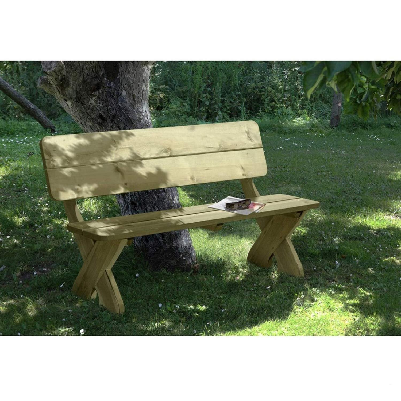 Elegante Gartenbank Toskana 3-Sitzer aus imprägniertem Holz von Gartenpirat® bestellen