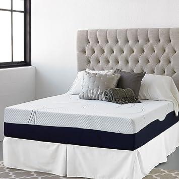 "13"" Night Therapy Elite Gel Infused Memory Foam Prestige Mattress & Bed Frame Set - Full"