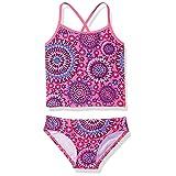 Kanu Surf Girls' Little Melanie Tankini Swimsuit, Pink, 4