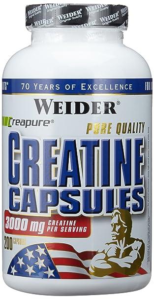 Weider Pure Creatine, 200 Kapseln, 1er Pack (1 x 249 g)