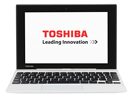 "Toshiba Click Mini L9W-B-102 PC Portable 2-en-1 tactile 8,9"" Blanc (Intel Atom, 2 Go de RAM, Disque dur 32 Go, Windows 8.1 + Microsoft Office 365 inclus)"