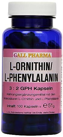 Gall Pharma L-Ornithin / L-Phenylalanin 3:2 GPH Kapseln, 1er Pack (1 x 51 g)