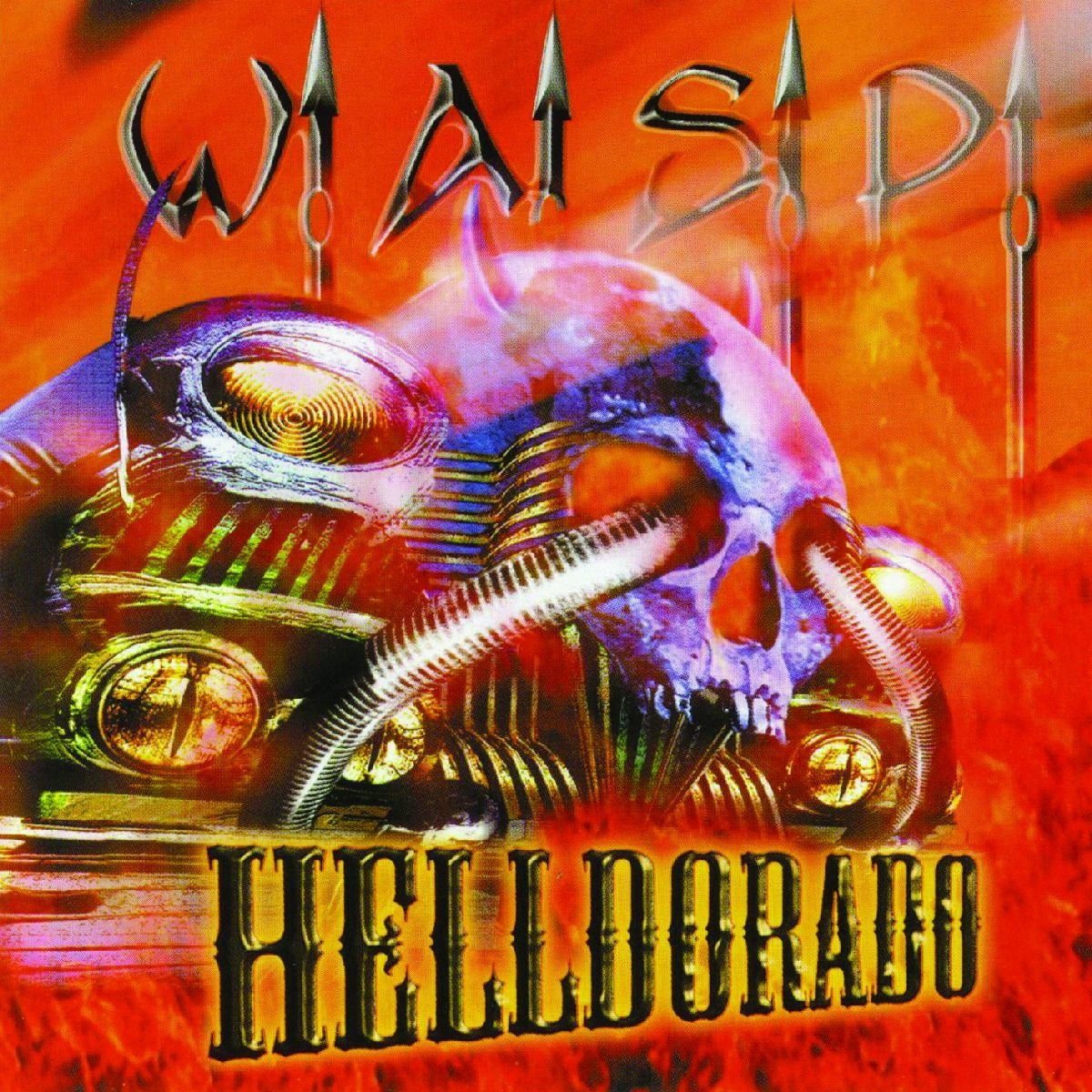 Wasp - Helldorado-Orange Vinyl - Amazon.com Music