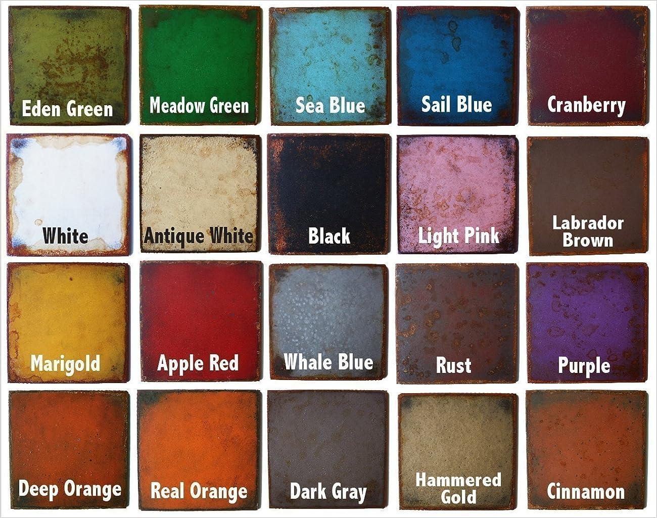 11 inch long eat metal wall art word - Handmade - Choose your patina color 1