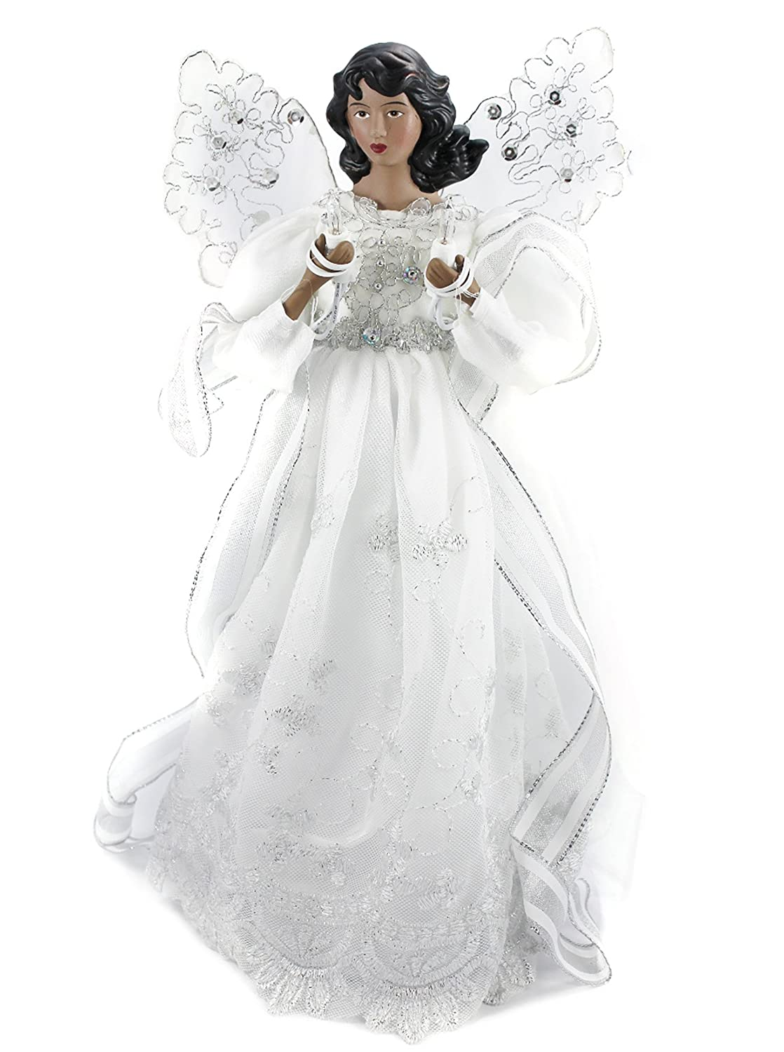 African American Unlit Angel Tree Toppers | Christmas Wikii